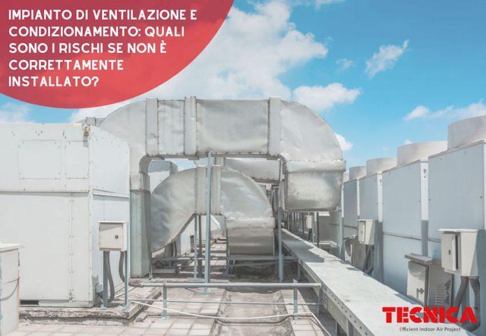 impianto di ventilazione e condizionamento